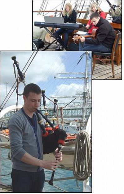 alasdair turner sam pake maz gilfedder tall ships 2011